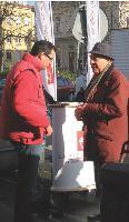 Les conseillers de la Cera ont mené 120 opérations de street marketing dans la région.
