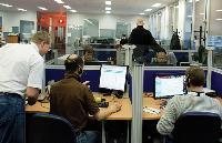 La cellule de prospection compte 30 télévendeurs en charge du marché francophone.