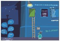Parmi tous les outils qu'elle a déployés pour sa campagne, Aastra a créé un mini-jeu disponible sur le site de la société fictive Early Adoption Research.
