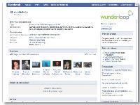 La page Facebook de Wunderloop compte aujourd'hui 150 membres.