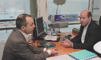 Cyril Gutton rencontre très régulièrement en tête-à-tête ses collaborateurs directs.