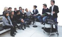 Répétition, au sein du «hub» créatif, à la veille de la recommandation à l'UIMM.