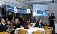 Les collègues de Romain Pochat venus le soutenir lors de son passage devant le jury de l'Applications Master Cup 2009.