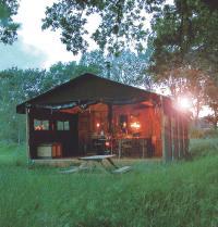 Partez en week-end dans une cabane � la campagne