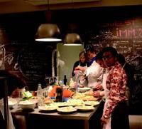L'atelier parisien Parole in cucina dispense des cours de cuisine italienne.