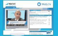 Sur sa Web.tv, SCC propose des programmes courts montés avec ses fournisseurs.