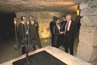 La carrière des Capucins, sous l'hôpital Cochin à Paris. L'un des lieux historiques et rares dont Les Voyages de proximité ont les clés.