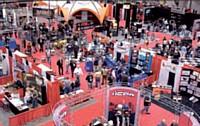 Beringer était présent au salon V-Twin Expo de Cincinnati dédié à Harley-Davidson.