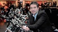 Philippe Roekhaut est un passionné de moto qui a passé douze ans en compétion.