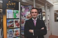 Pour Frédéric Vaché, les présentoirs Yvon constituent un atout pour séduire les GSA.