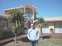 Frédéric Vaché a fait le choix de vivre en Gironde tout en travaillant en région parisienne.