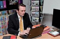 Frédéric Vaché vérifie quotidiennement l'activité de ses commerciaux sur son tableau de bord.