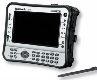 Le Panasonic Toughbook.