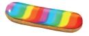 L'éclair rainbow, création de Fauchon Réceptions pour les Gay Pride.