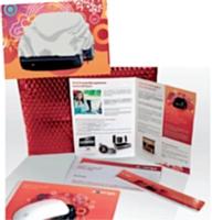 Goodies et brochures animent le challenge réunissant Aastra, HP Networking et Ucopia.