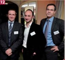 Louis Mainguet, Tarkett France, Bruno Rogier, Dacia, et Pierre-François Brézès, American Express.