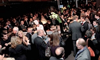 La soirée de remise des trophées s'est déroulée au pavillon d'Armenonville à Paris.