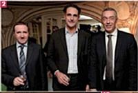 Louis Mainguet, Tarkett France, Hervé Lenglart, Editialis, et Guillaume Girand-Reydet, Ricard.