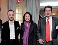 Bruno Rogier, Dacia, Rie Yamane, Renault, et Grégoire de Rouffignac, Velux.