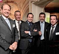 François Crépin, Sorap, Guillaume Girard-Reydet, Ricard, Grégoire Cléry, Éditialis, Stéphane Castel, Ricard, et Christophe Michut, Nissan Europe.