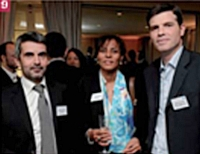 Christophe Renard, Fauchon Réceptions, Yvelise Lebon, Cegos, et Laurent Bailliard, Action Commerciale.