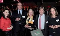 Orla Caffrey, Tourism Ireland, Jean-Pierre Arnaud, DCF, Catherine Bertin, Tourism Ireland, Jean-Charles Duplaa, et Carole Paplorey, DCF.