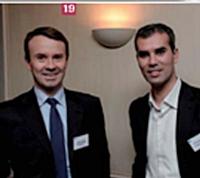 Jérôme Rabuel, Orange Business Services, et Stéphane Fauchet, Éditialis.