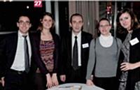 L'équipe Adhrena avec son client BrasserieDuyck-Jenlain.