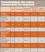 Source: Etude sur les salaires 2010-2011 - Rémunération des professions marketing et vente, Maesina International Search, en partenariat avec Hewitt Associates (octobre 2010)