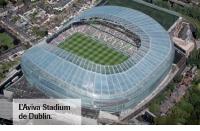 L'Aviva Stadium de Dublin.