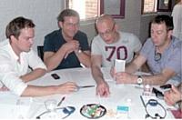 Une réunion de travail organisée dans le cadre de l'observatoire de la fonction commerciale.