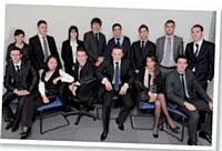 Les commerciaux juniors en formation par alternance au sein de SFD entreprise.