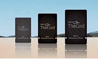 Le programme TheCard comporte trois niveaux: Silver, Gold et Platinium.