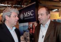 Mario Pilato rencontre Philippe Beissier, président directeur général d'Alpilles Voyages.