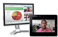 Sur écrans d'ordinateur ou de tablette, rejoignez la réunion où que vous soyez.