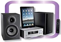 Philips propose une gamme variée de produits high-tech, de la station d'accueil pour iPad, iPod, iPhone et autres (de 60 à 500 euros HT) au casque audio (35 euros HT).
