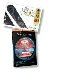 Avec les offres Sporeka et Wonderbox, les entreprises ont le choix entre la carte physique ou dématérialisée.
