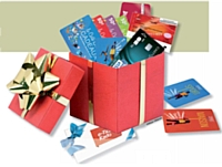 Cartes, chèques et coffrets-cadeaux: des offres en ligne packagées