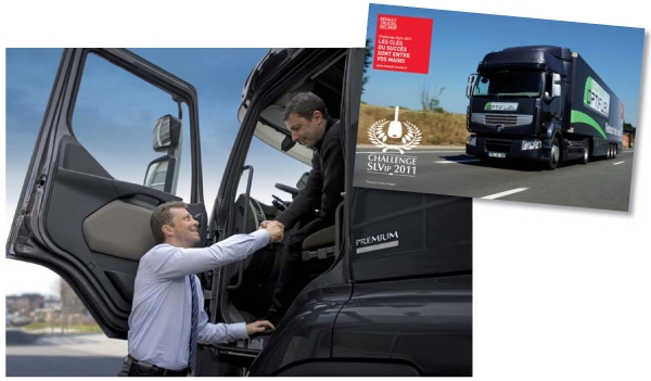 renault trucks am liore son service clients gr ce ses livreurs. Black Bedroom Furniture Sets. Home Design Ideas