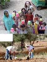 Aider à construire une école en Inde ou planter des arbres, le challenge solidaire peut prendre bien des formes...