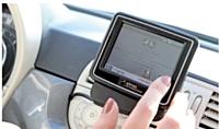 Chez Arval, les véhicules en autopartage sont équipés d'un écran de bord pour suivre l'état du véhicule.