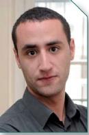 Lamine Larfaoui, 23 ans, étudiant en 2e année de BTS Négociation relation client (N RC) à l'Isefac de Paris