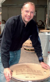 Marc Plantagenêt, directeur des opérations de la tonnellerie Seguin-Moreau Bourgogne