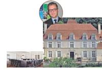 Le Château des Vigiers, à proximité de Bergerac (24).