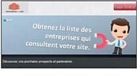 MesVisiteursPro.com traque les sociétés qui visitent votre site web