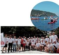 Le challenge visait également à financer des équipements pour que les personnes à mobilité réduite pratiquent le kayak.