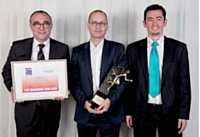 De gauche à droite: Marc Licciardi (Groupe Pierre Le Goff), Guillaume Chollet (Loyalty Expert) et Guillaume Pestier (CCLD Recrutement).