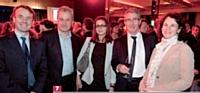 Jean-Marc Siozac, Volkswagen Bank, Julien Forget, Groupe Rhinos, et José Sanchez, Volkswagen Bank
