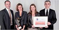 L'équipe de CPM France avec son client Kraft Foods France.