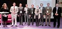 Les lauréats ont reçu leur prix lors du salon Vendre! en présence de Jacques Benn, président des DCF (au milieu).